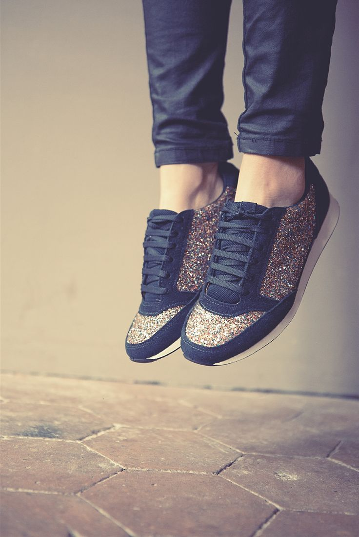 Sneakers that sparkle