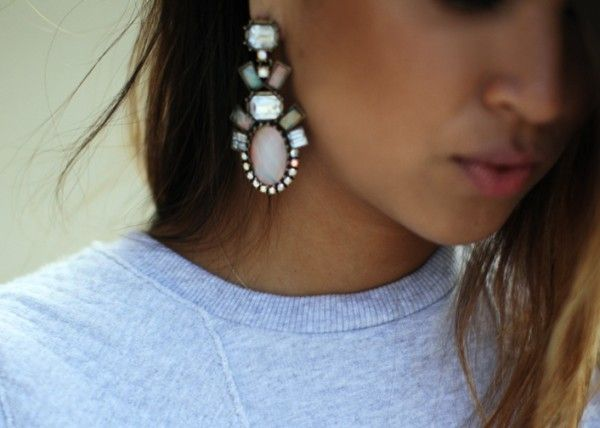 Some statement earrings