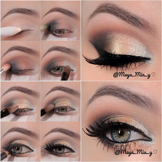Stylish New Year's Eve Makeup Look