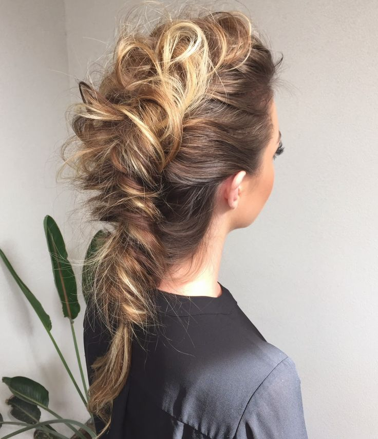 'Super messy' fishtail