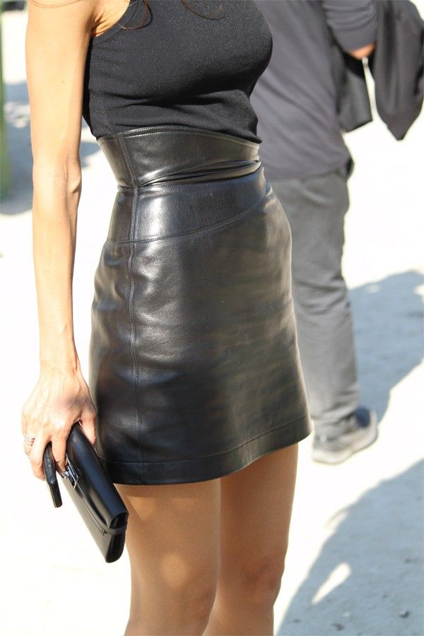 Tank and leather