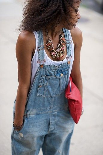 Tank top and overalls