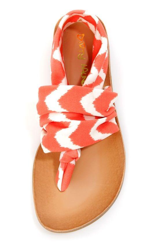 Tie dye sandal