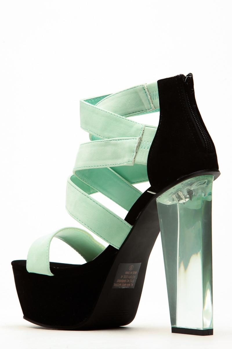 Translucent heel