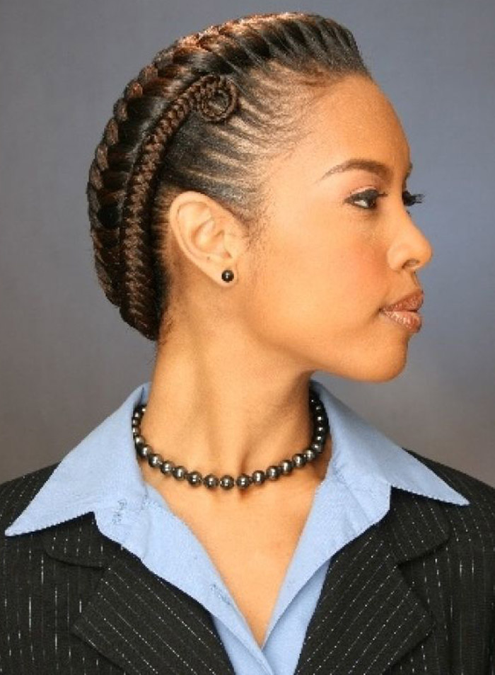 Fine Cute Braid Hairstyles Black Hair Braids Short Hairstyles Gunalazisus