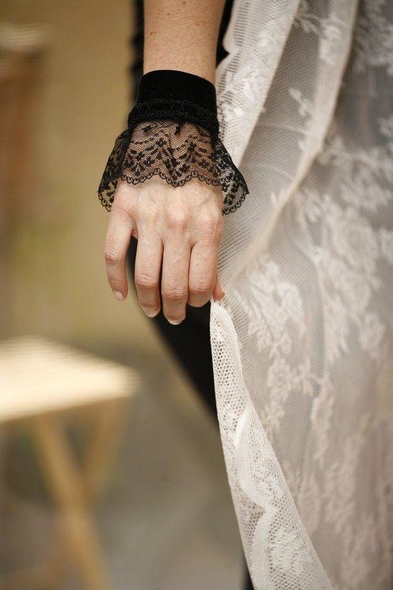 Velvet cuff