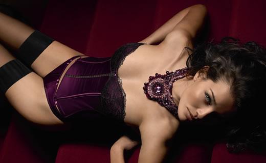 Violet lingerie