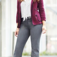 Wear a colorful blazer