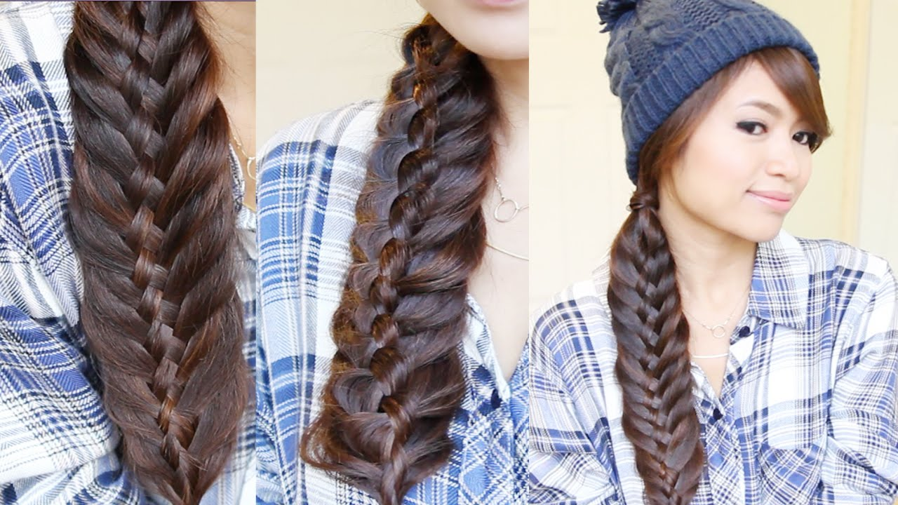 21 different fishtail hairstyles styles weekly for Fish tail hair