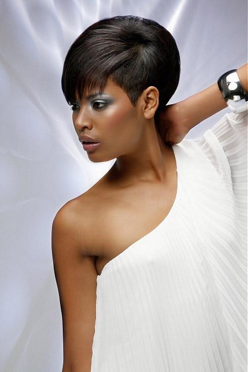 Enjoyable 21 Show Stopping Short Hairstyles For A Bride Styles Weekly Short Hairstyles For Black Women Fulllsitofus