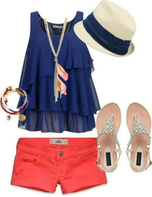 Pretty Summer Outfit Look