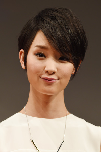 Ayame Goriki Lovely Short Hair with Emo Bangs