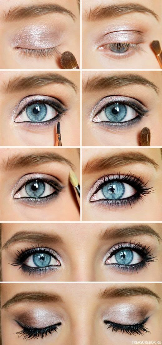 17 Best Images About Kylie Kristen Jenner On Pinterest: 17 Best Light Smoky Eye Makeup Tutorials For Summer