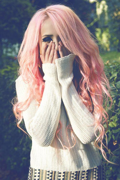 Beautiful Peach Blonde Hair