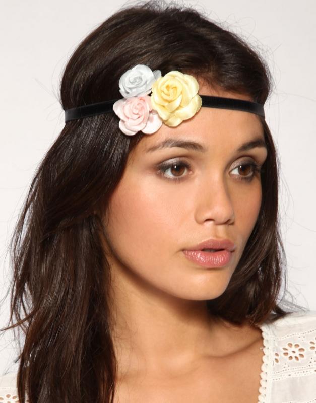 Boho chic headband