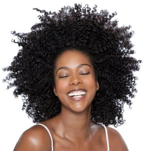 Braid out Afro