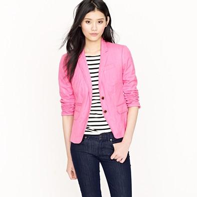 Bubblegum pink blazer