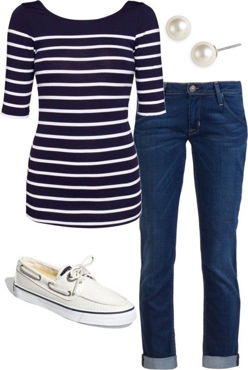Casual nautical