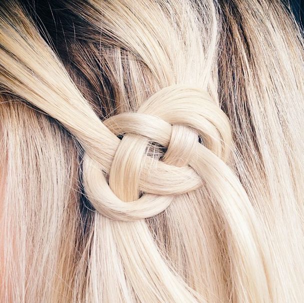 Celtic hair knot