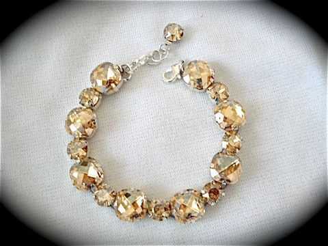 Champagne jewelry
