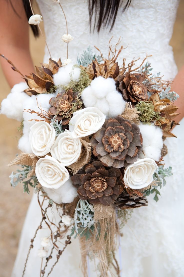 Chocolate bridal bouquet