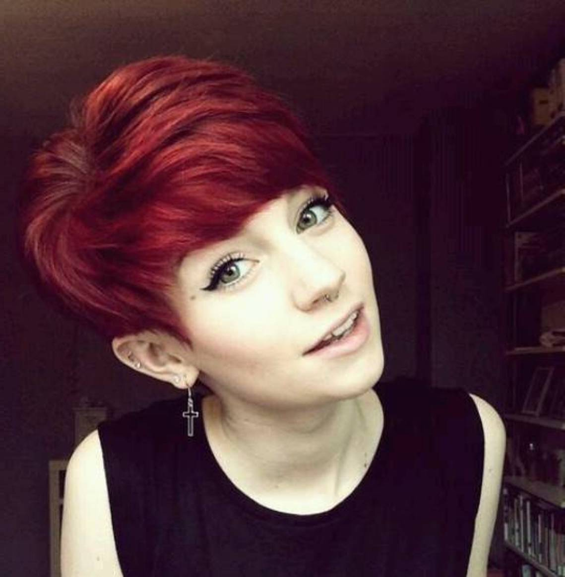 red hair short styles 24 really hairstyles styles weekly 2737 | Classic pixie cut1