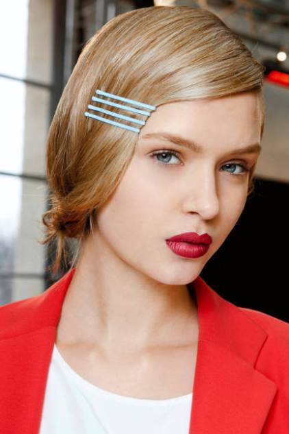 Colored bobby pins