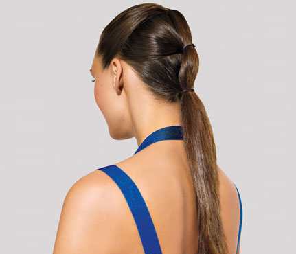 'Connected' ponytails
