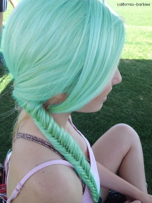 Cool Mint Hair