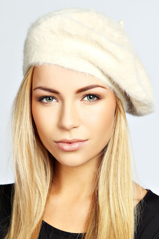 Cream beret