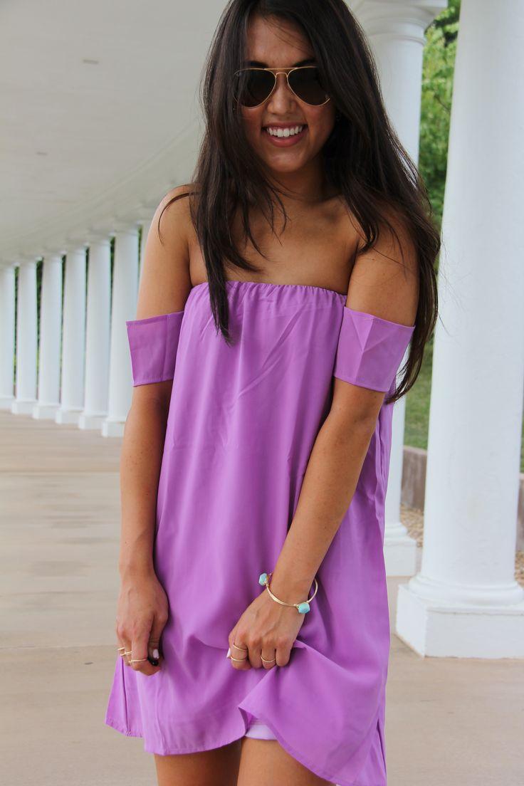 Cuff sleeve dress