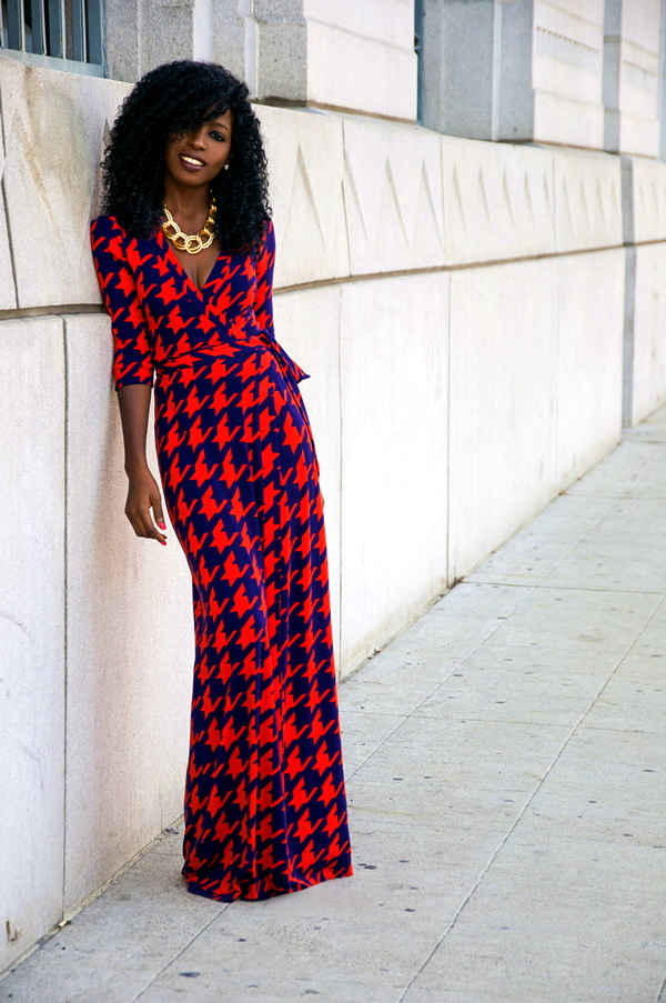 2015 Chic Maxi Dress Outfit