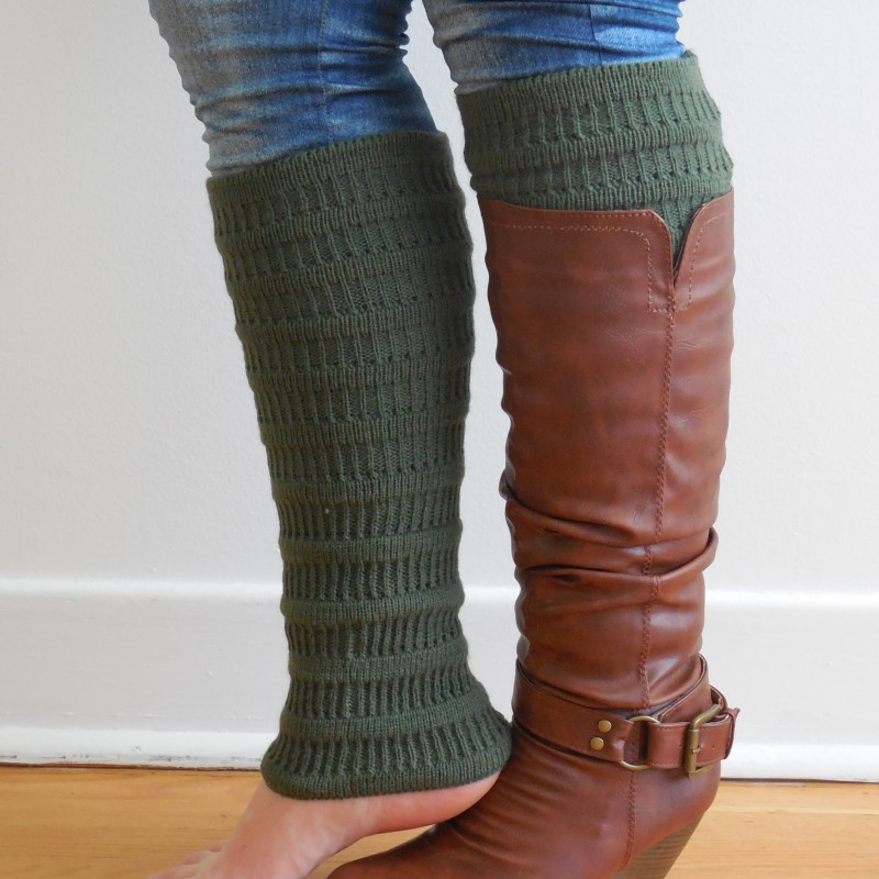 Dried herb legwarmers