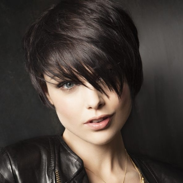 Cute Brunette Teen Short Hair