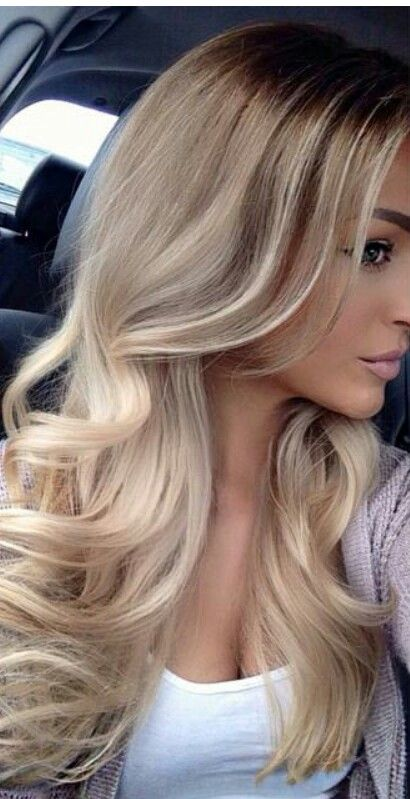 Effortless Blonde Hair