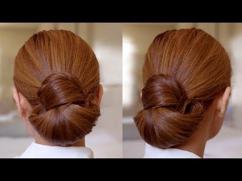 Elegant hair knot