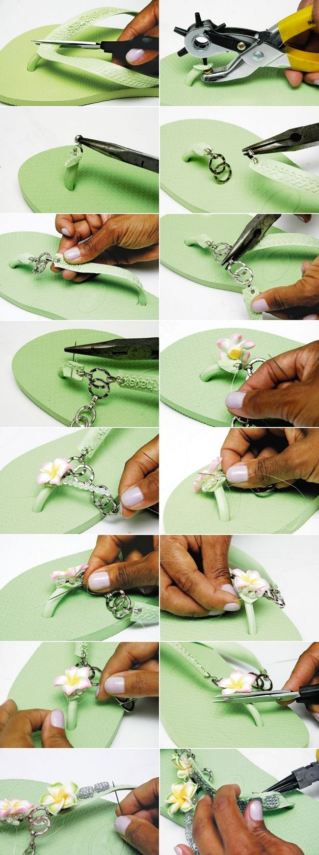 Fascinating Slippers DIY Tutorial