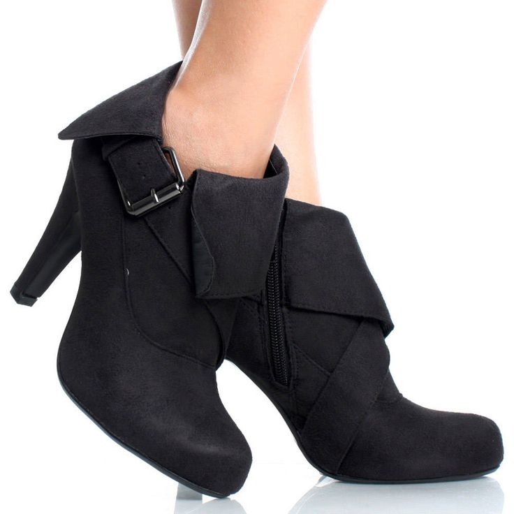 Fold over booties
