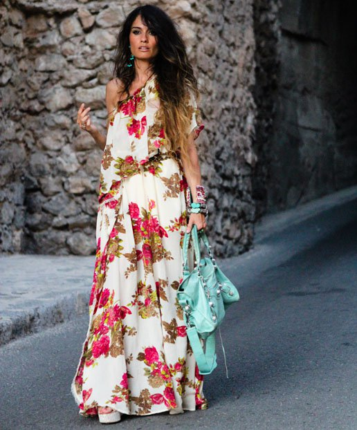 Effortless Floral Printed Dress