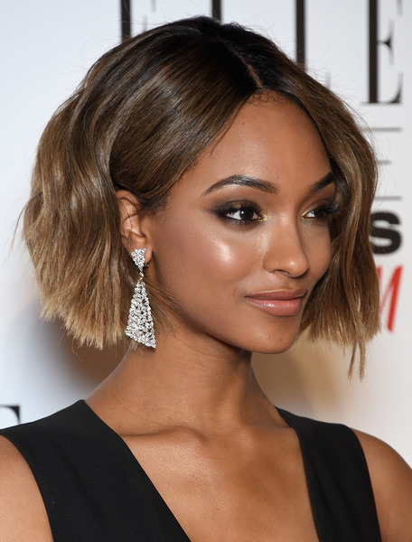 Jourdan Dunn Short Wavy Bob