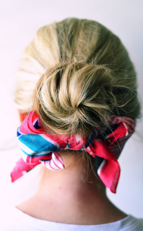Knot and a scarf
