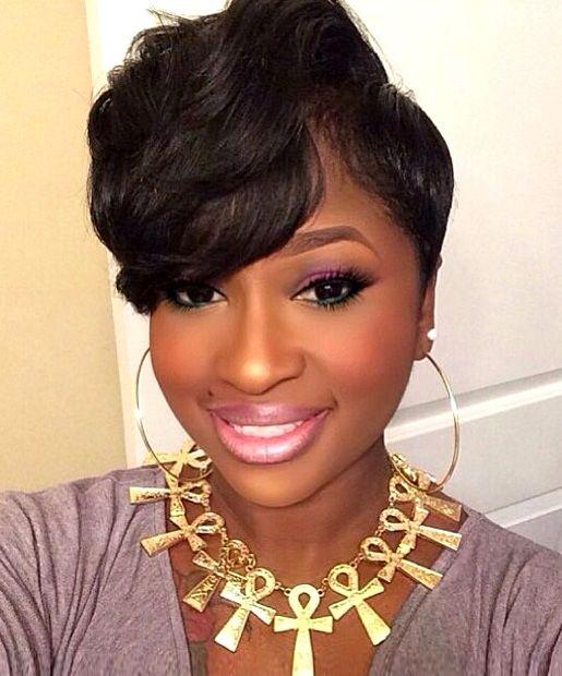 Wondrous 24 Stunning Short Hairstyles For Black Women Styles Weekly Short Hairstyles For Black Women Fulllsitofus