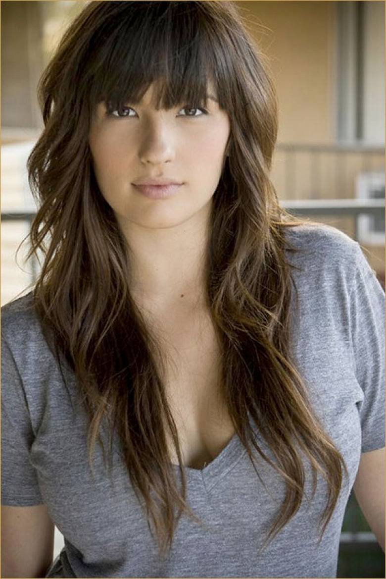 haircuts with bangs 25 popular hairstyles for on the go styles weekly 4827