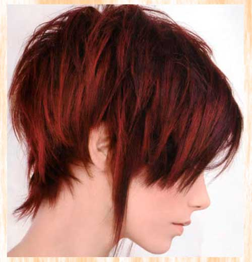 Magnificent 24 Really Cute Short Red Hairstyles Styles Weekly Hairstyles For Men Maxibearus