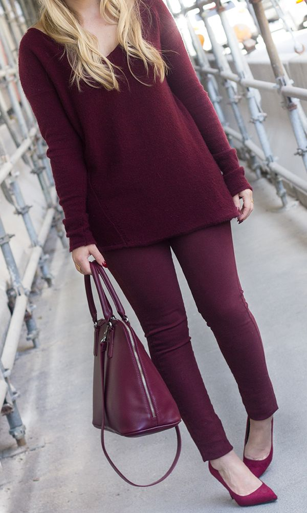 Marsala from head-to-toe