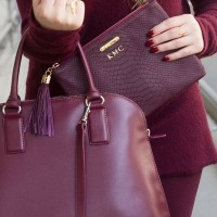Marsala multiple purses