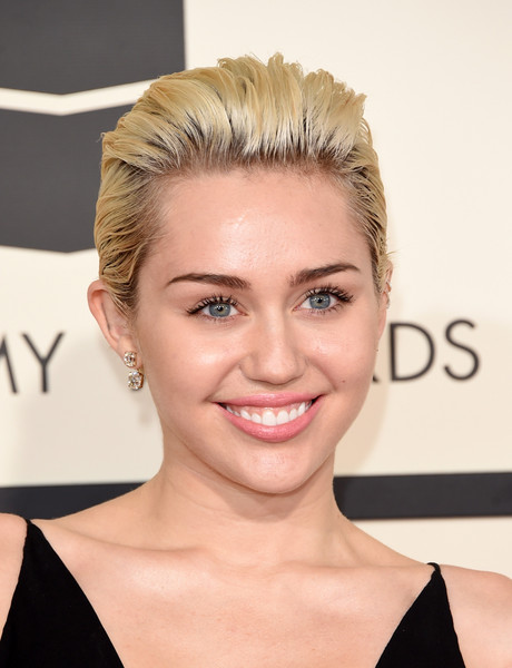 Miley Cyrus Back-teased Short Hair