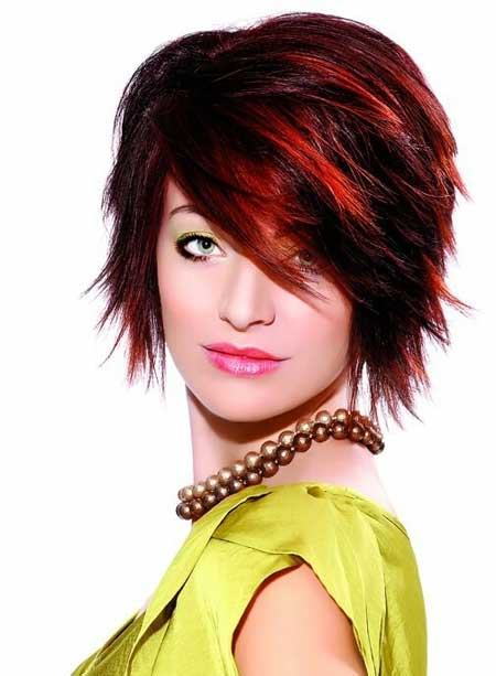 Miraculous 24 Really Cute Short Red Hairstyles Styles Weekly Hairstyle Inspiration Daily Dogsangcom