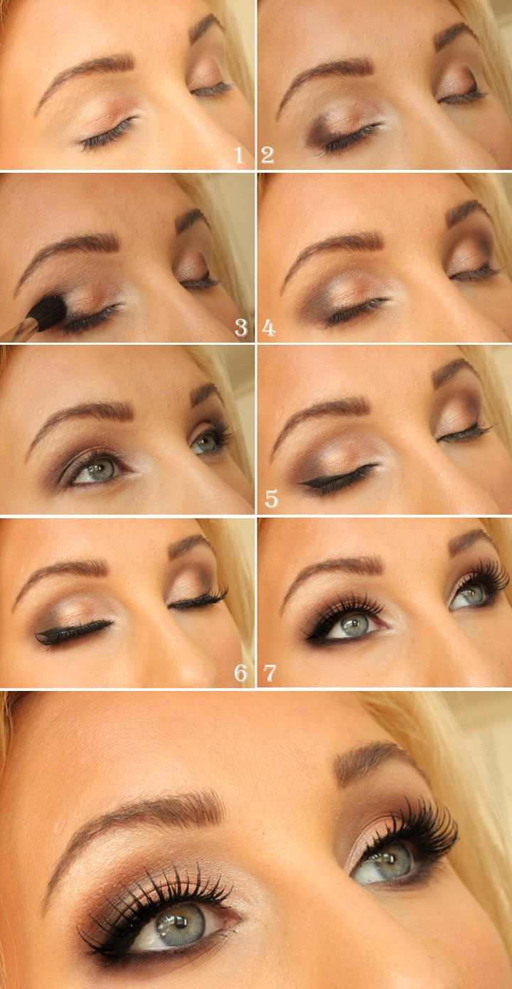 11 Best Light Smoky Eye Makeup Tutorials for Summer - Styles Weekly