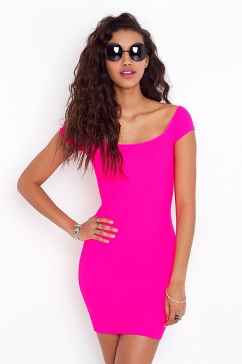 Neon party dress